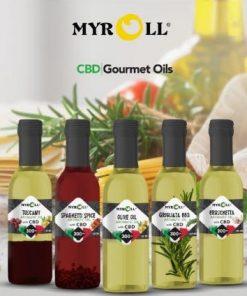 CBD Extra Virgin Olive Oil Gourmet